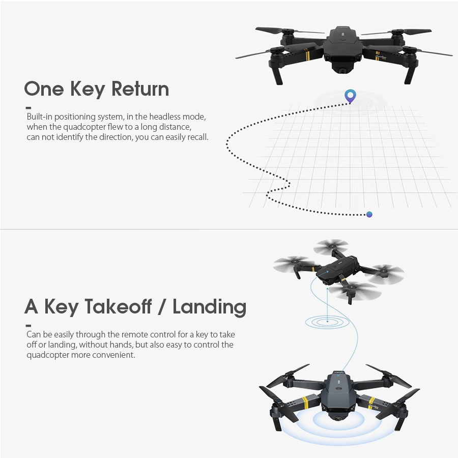Foldable Design RC Quadcopter with Camera